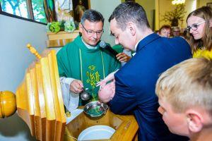 Chrzest Święty Julka + sesja zdjęciowa Gdynia