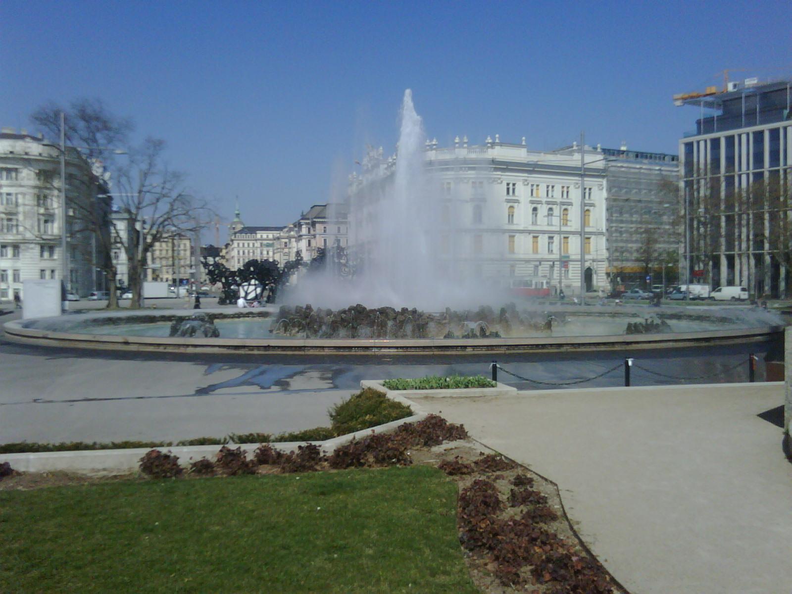 Wien ist immer eine Reise Wert. Kundenbesuch Nähe Schwarzenbergplatz.