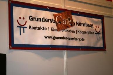 START-Messe 2012 Nürnberg Gründercafé, Gründerstammtisch