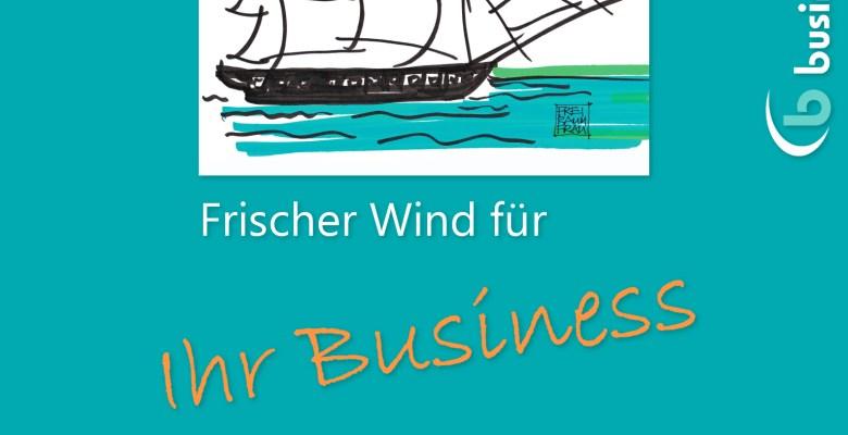 Kurswechsel - Frischer Wind für Ihr Business - Gemeinschaftsprojekt mit business-netz.com