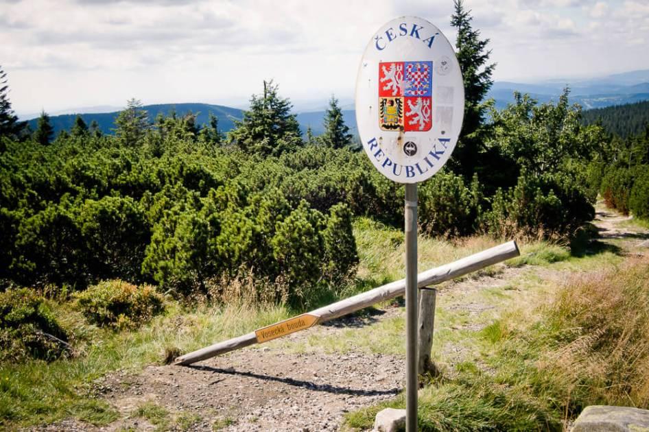 Karkonosze - Granica polsko-czeska