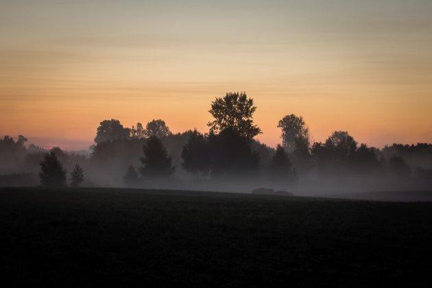 Mglisty wschód słońca - Wymysłowo