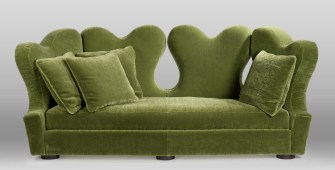 Canapé babeth vert face