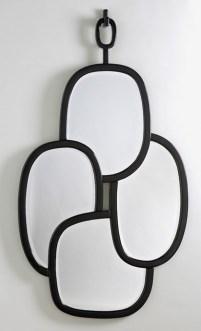 Miroir tania noir