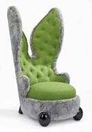 Placide le lapin calin vert 01