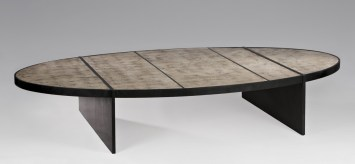 Table Montaigne - Or blanc 01