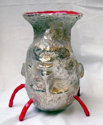 Vase tête de lempereur