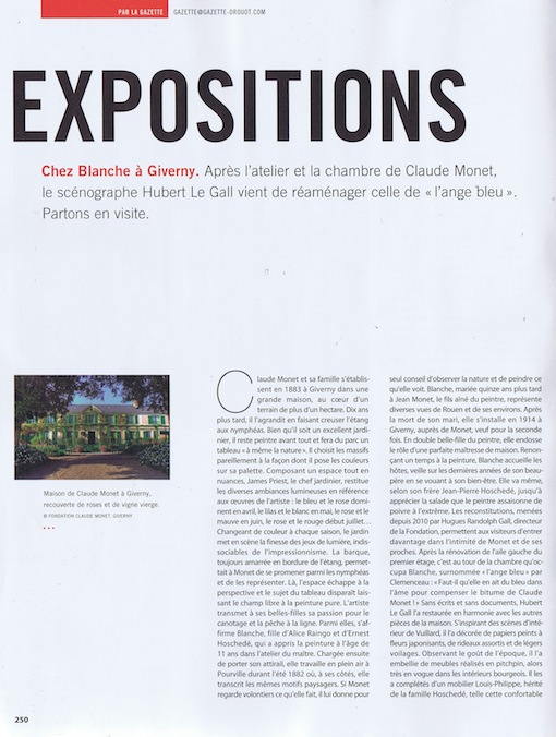 "Article "" La gazette Drouot "" n°20"