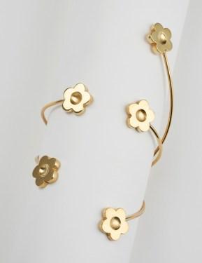 Bracelet 5 marguerites