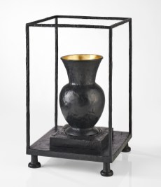 Vase Vitrine Noir