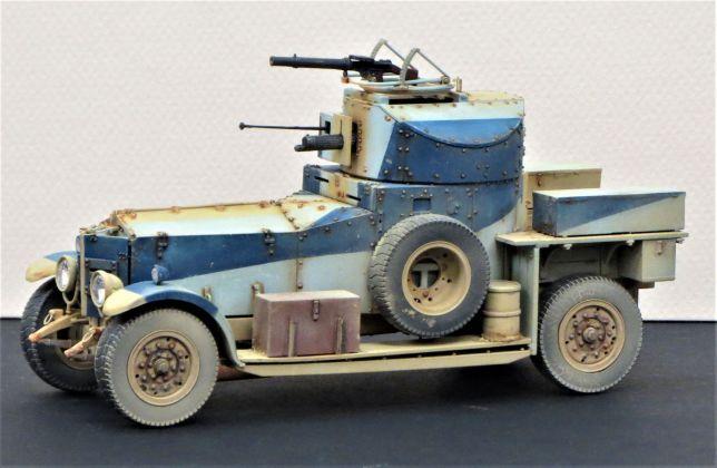 British R-R Armored Car