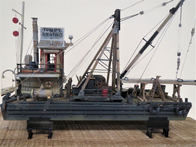 Pile Driving Barge