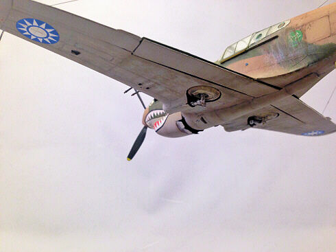 Greg Boyington's AVG P-40