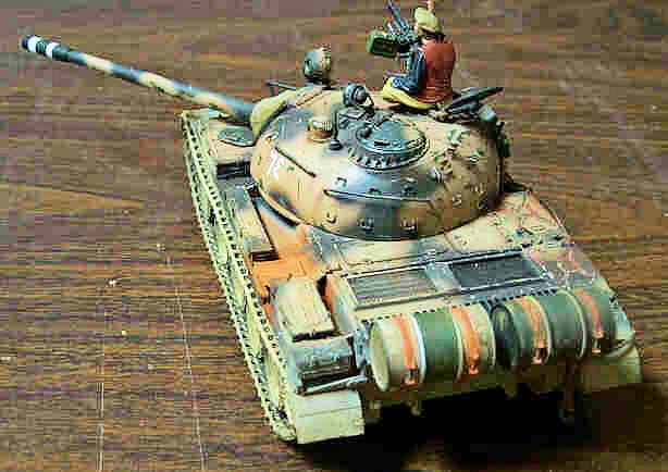 Building Tamiya's T-55A