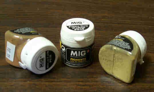 Using MIG Pigments