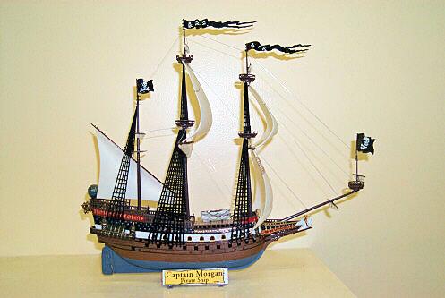 Henry Morgan Pirate Ship