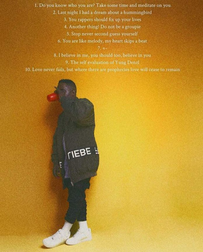 MI Abaga - A Study On Self Worth: Yxng Dxnzl Album Download and Tracklist