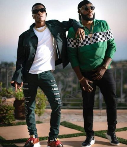 Kcee Links Up With Starboy Wizkid To Record Another Hit!