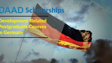 Photo of DAAD Scholarships 2022/23 : Development-Related Postgraduate Courses in Germany