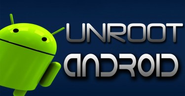 How to unroot android using superuser apk app