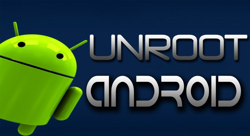 How to unroot android phone using kingroot app