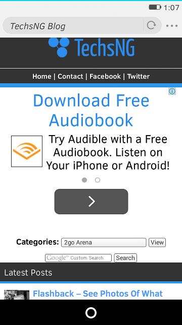 firefox OS browser