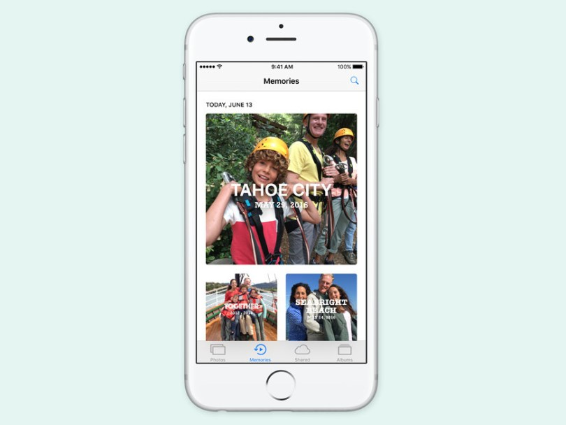photos on iOS 10 is now truly smart