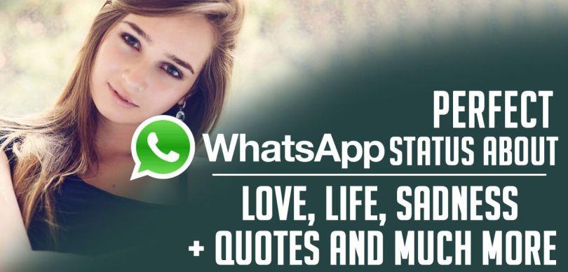 Whatsapp status quotes