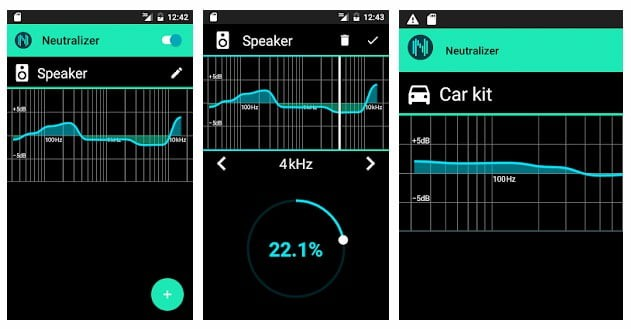 Neutralizer Equalizer app for android
