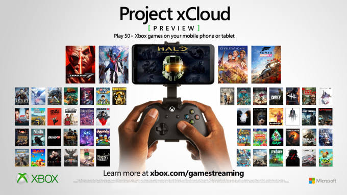 Project xCloud Cloud Game services