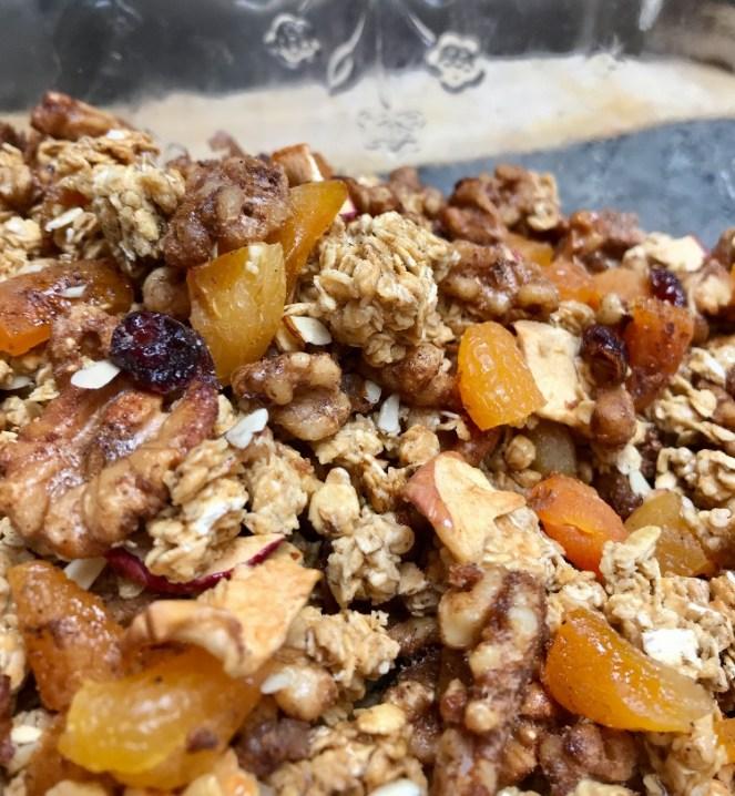 Huckleberry Hill Granola Recipe