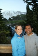 Kira and Carlos at Mt Rainer
