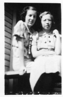 Ruth and Audrey, good friends and eventually sister-in-lawas