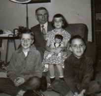 with Grandpa Hubbard
