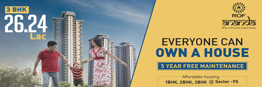 ROF Ananda Affordable Housing Project Sector 95 Gurgaon