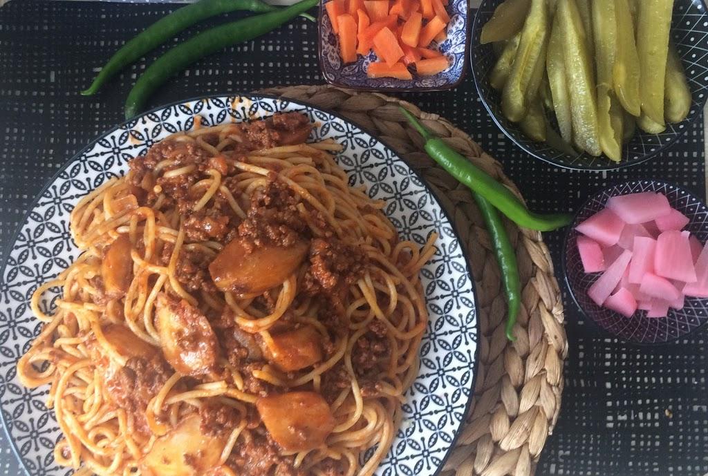 Makarona bi Batata – Syrische Spaghetti