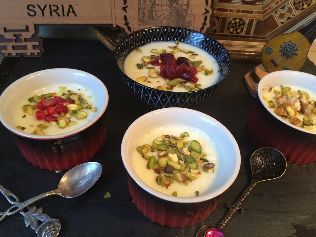 Mhalayeh – Syrischer Milchpudding