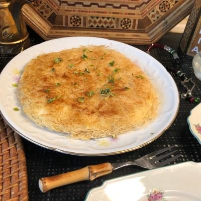 Knafeh Rezept- syrisches Frühstück