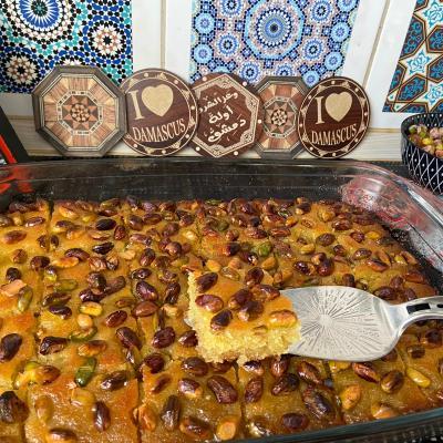 syrisches rezept für harise oder basbusa