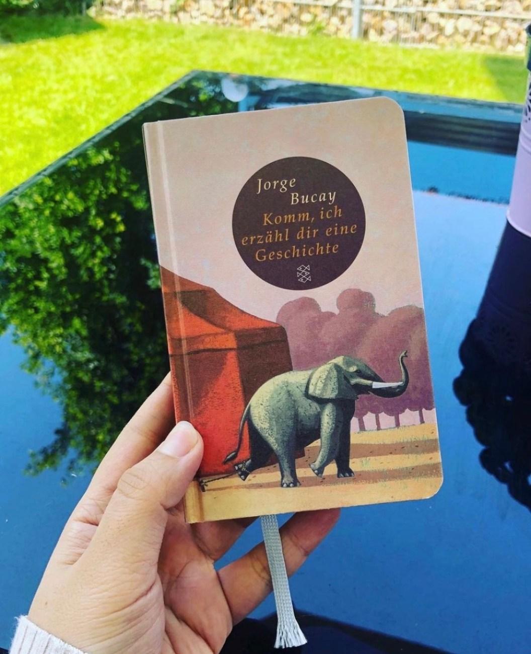 Komm, ich erzähl dir eine Geschichte von Jorge Bucay - Buchvorstellung