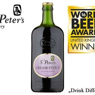 St. Peter's Cream Stout 6.5% 1x500ml üveges