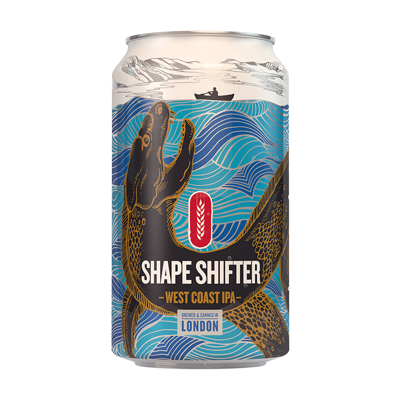 Fourpure Shape Shifter West Coast IPA sör