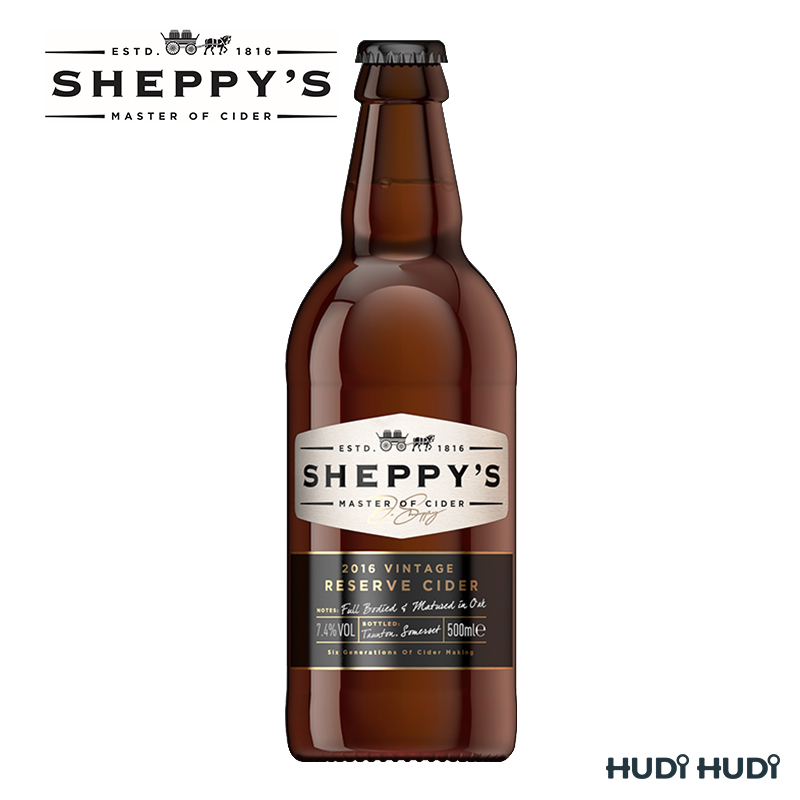 Sheppy's VINTAGE RESERVE Medium Cider 7.4% 500ml üveges