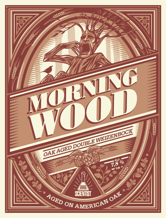 Mad Scientist MORNING WOOD 7.8% 30L KeyKEG