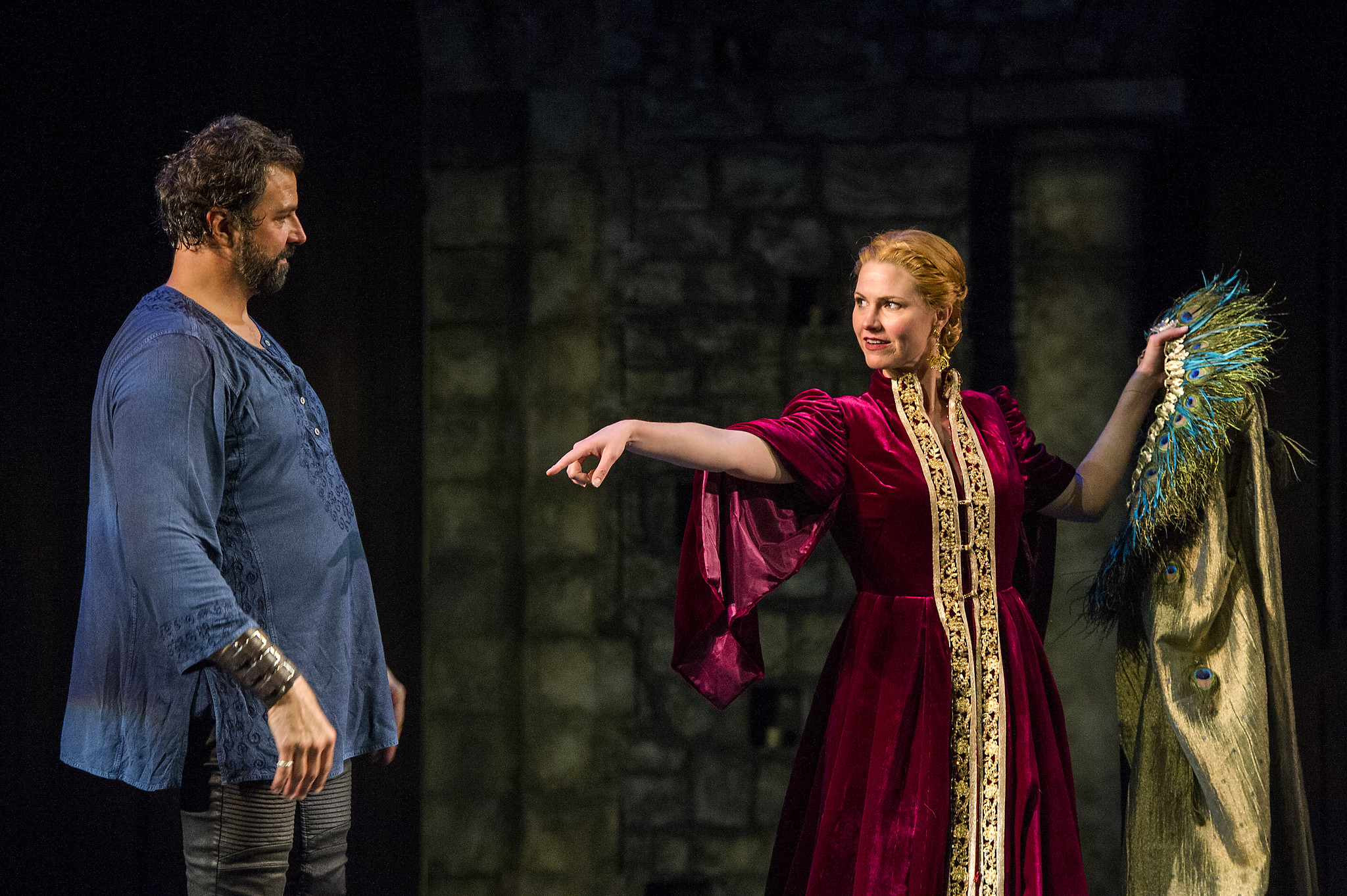 Gertrude and Claudius at Barrington Stage Company