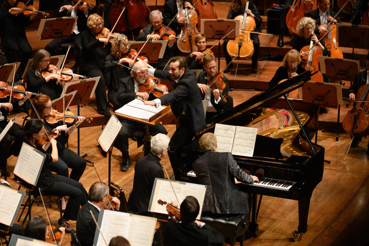 Fabien Gabel conducts the San Francisco Symphony in Dukas, Zigman, and Saint-Saëns, with Jean-Yves Thibaudet, Piano, and Jonathan Dimmock, Organ
