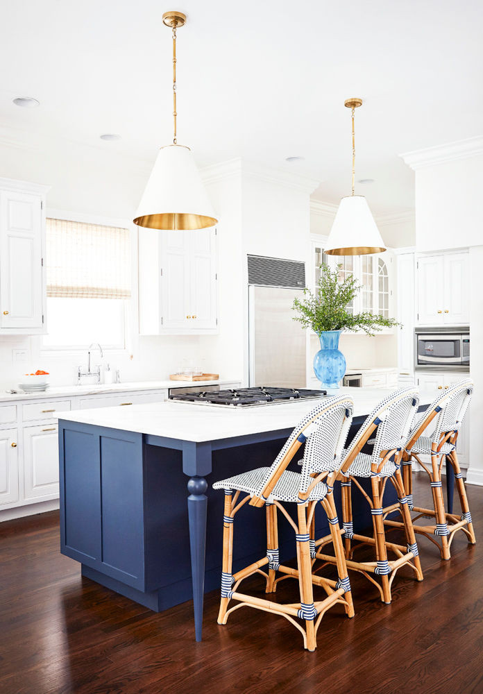 Perfect Together Navy White Kitchen Hudson Reade