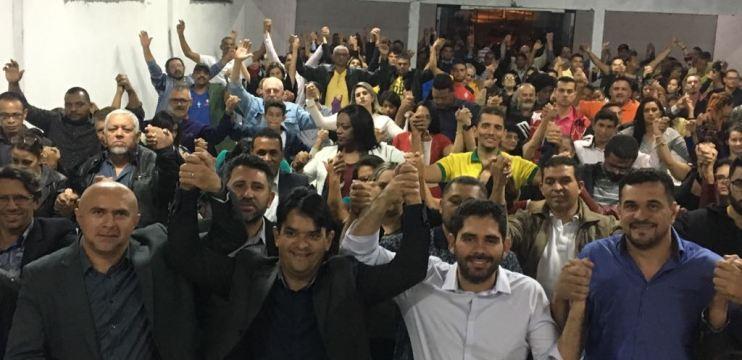 Em reunião com líderes, Everaldo Vidal confirma sua pré-candidatura a deputado estadual e reúne mais de 600 pessoas