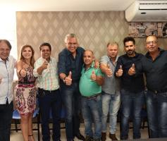 Prefeito e vereadores do MDB de Buriti de Goiás oficializam apoio à candidatura de Ronaldo Caiado