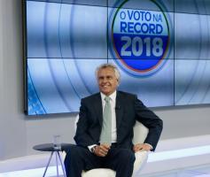 Caiado declara apoio a Ibaneis, candidato ao governo do DF